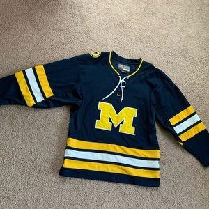 University of Michigan Nike hockey jersey